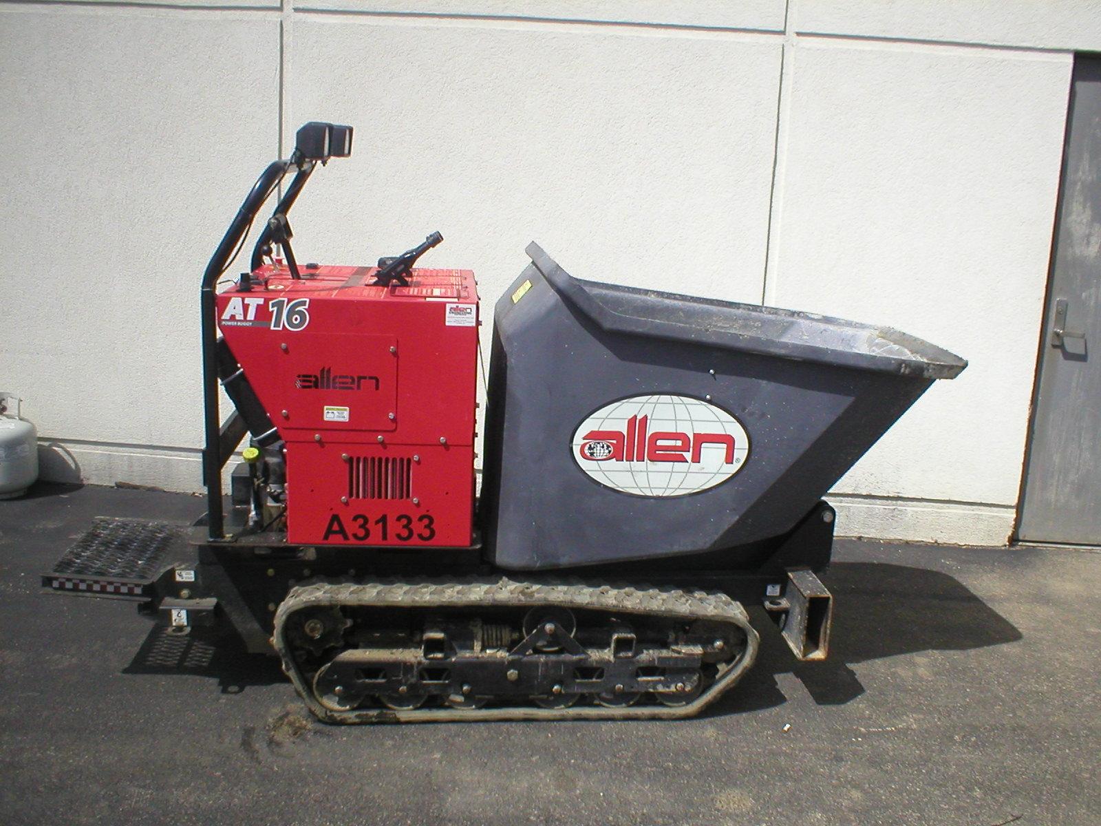 Equipment Specifications: Blue Ash Equipment Rental Center